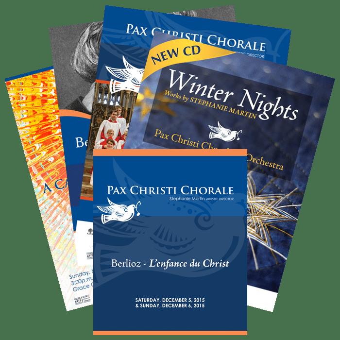 Pax Christi printed material