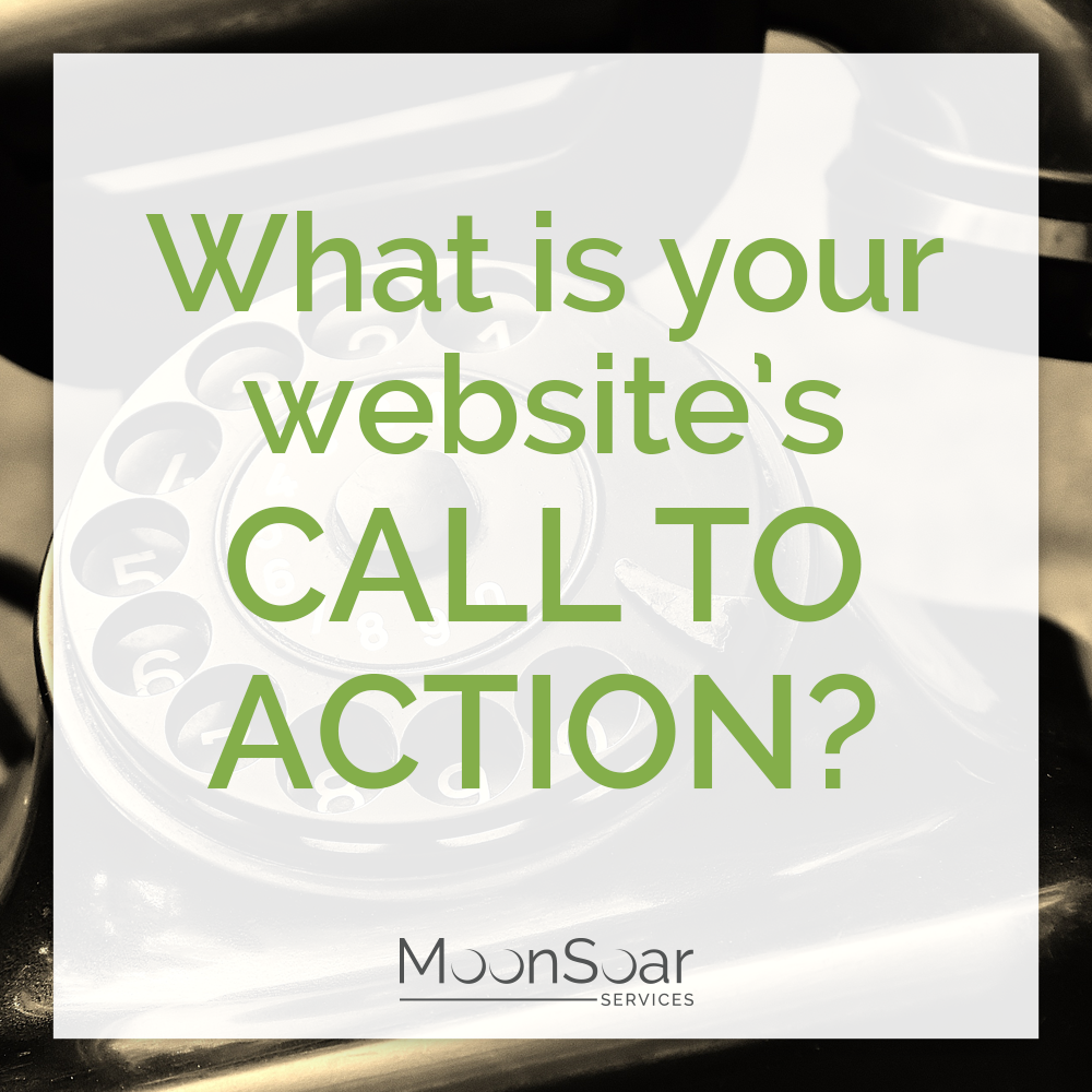 What is your website's call to action?